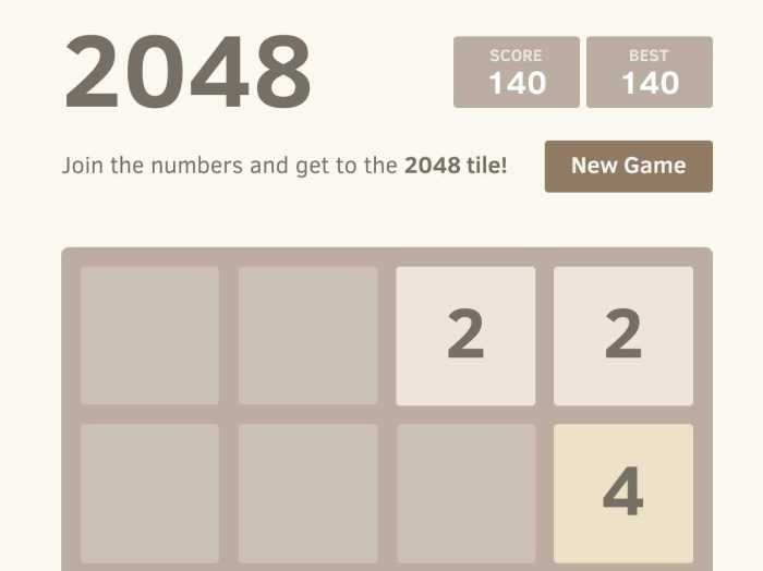 2048, Can it be educational?