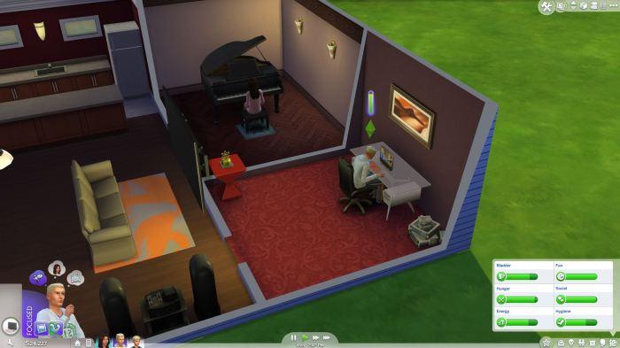 Sims 4 Moods Focused Help