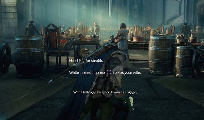Shadow of mordor polygon wrong opinion pixxelpress sony xbox