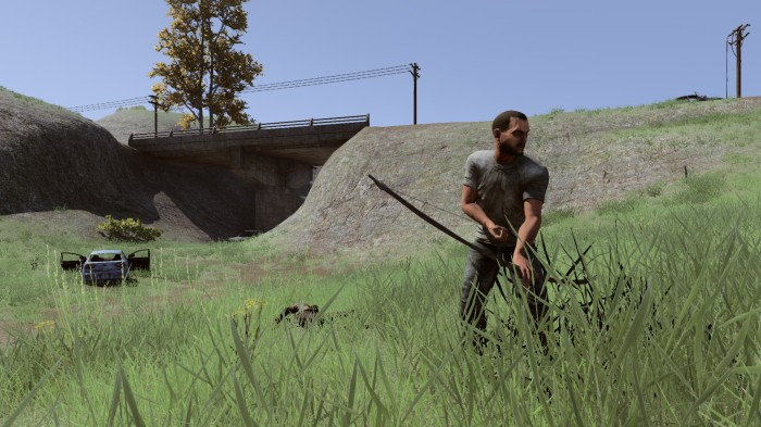 h1z1, headshot, zombie, bridge, screenshot, capture, preview