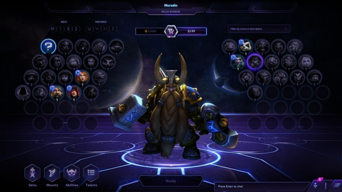 there should not be shared experience in HotS